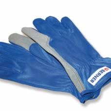 Монтажные перчатки, Синтетические,серый, синий, категория 2