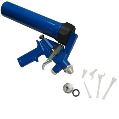 Пневматичний пістолет для розпилювання герметиків