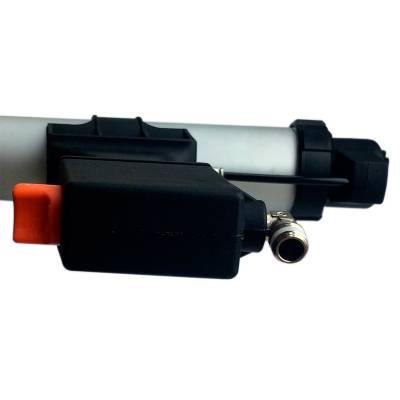 Пневматичний пістолет для видавлювання герметиків