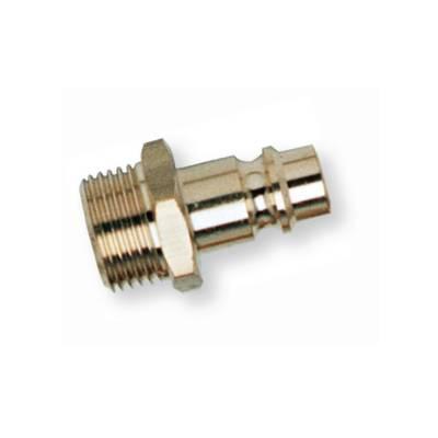 Штуцер быстроразъёмного соединения (папа) латунный с наружной резьбой