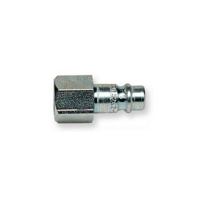 Штуцер быстроразъёмного соединения (папа) стальной с внутренней резьбой
