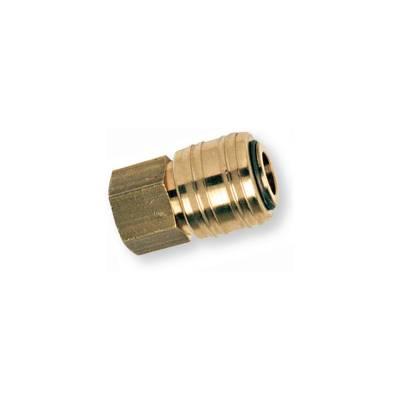 Швидкороз'ємна латунна муфта з внутрішнью різьбою