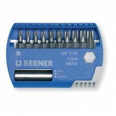 Набір біт 1/4 '' R-TX 11 шт. з магнітним утримувачем для біт в пластиковому кейсі