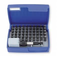 Набір біт 1/4 '' TX 51 шт. з магнітним держателем для біт в пластиковому кейсі