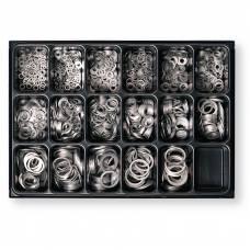 Набір алюмінієвих кілець в ящику 1350шт Berner