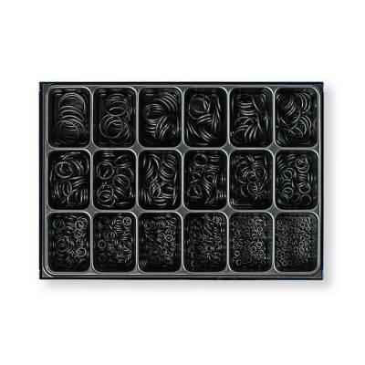 Набір гумових ущільнювальних кілець в металевому кейсі 1000шт Berner