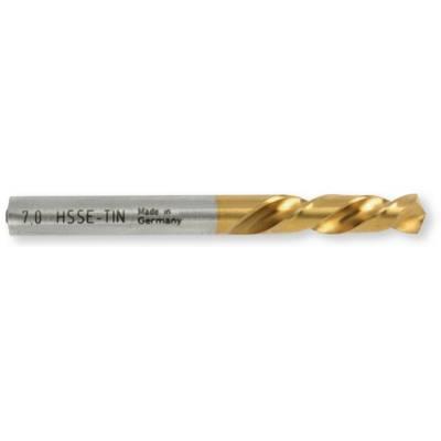 Cвердло 130 ° HSS-E, TIN покриття, DIN 1 897