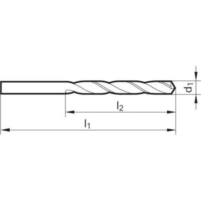 Свердла по металу DIN 338 CO 5 Berner