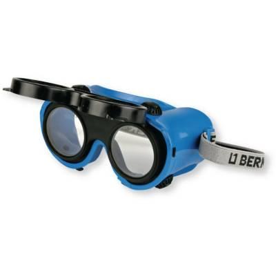 Захисні окуляри для зварювання/шліфування тоновані Berner, EN 166/169