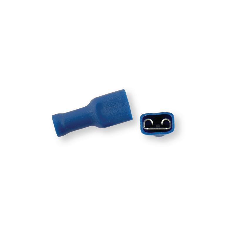 Клемма обжимная полностью изолированная МАМА синяя 4,8х0,5 мм