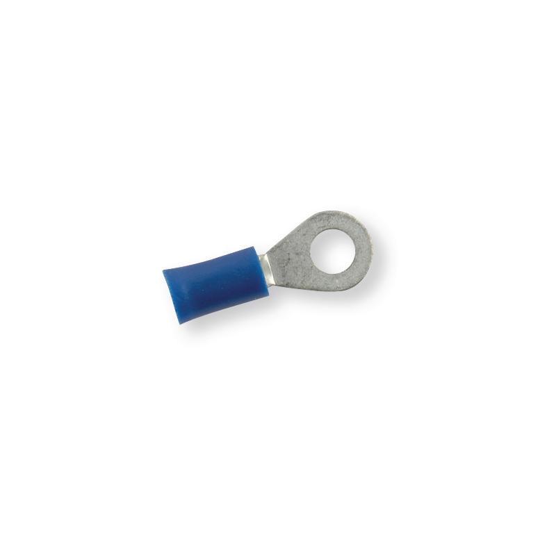 Клемма обжимная изолированная кольцевая синяя Ø 5,3 мм