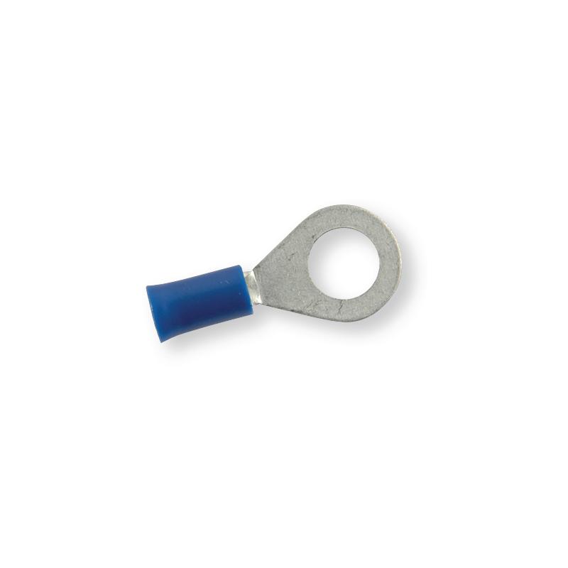 Клемма обжимная изолированная кольцевая синяя Ø 8,4 мм