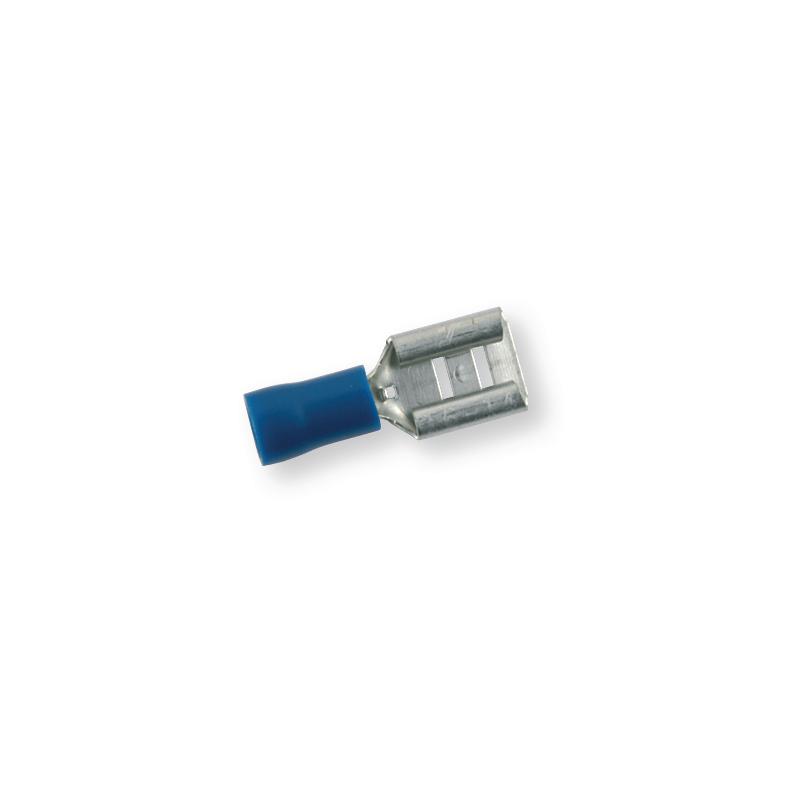 Клемма обжимная изолированная МАМА синяя 7,7х0,8 мм