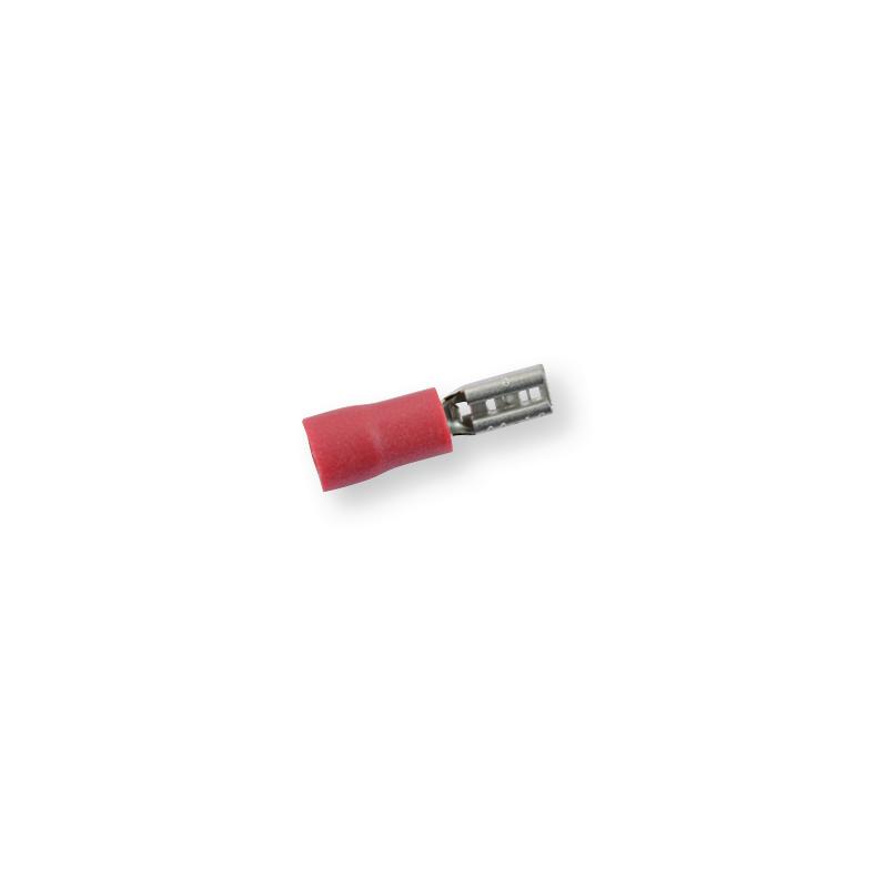 Клемма обжимная изолированная МАМА красная 2,8х0,5 мм