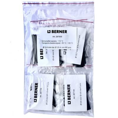 Набір термоусадочних трубок Berner