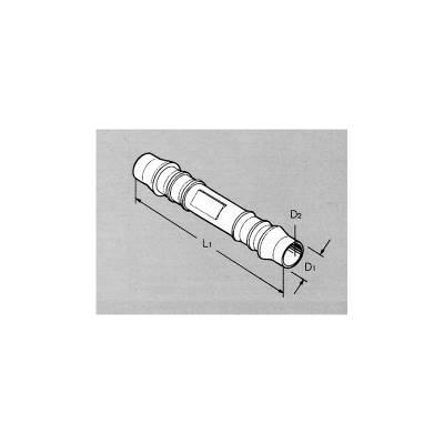 З'єднувальна муфта для шлангів пряма