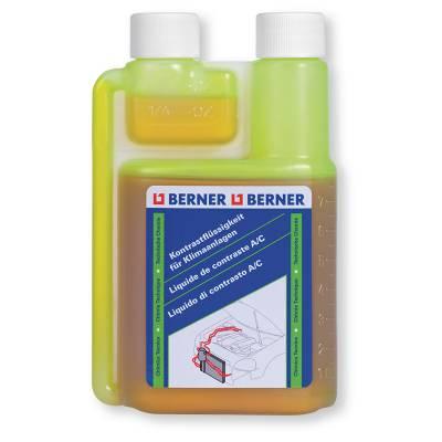 Контрастна рідина для виявлення витоків в системах кондиціонування Berner, 240 мл
