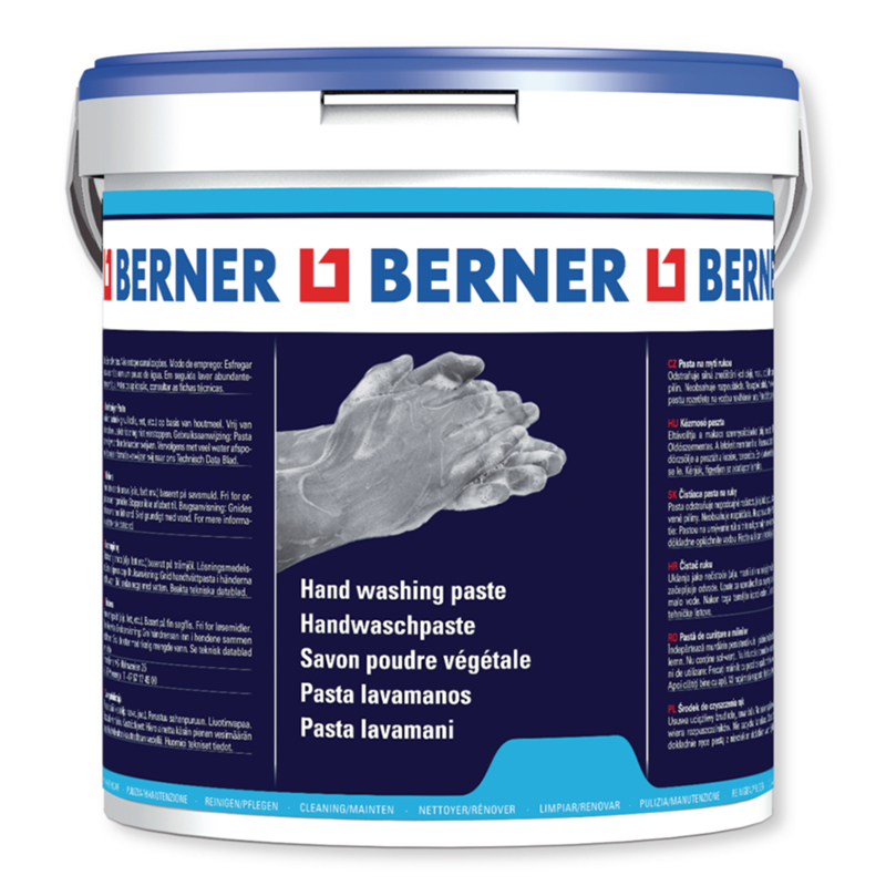 Паста для очищення рук Berner, 10 л (відро)