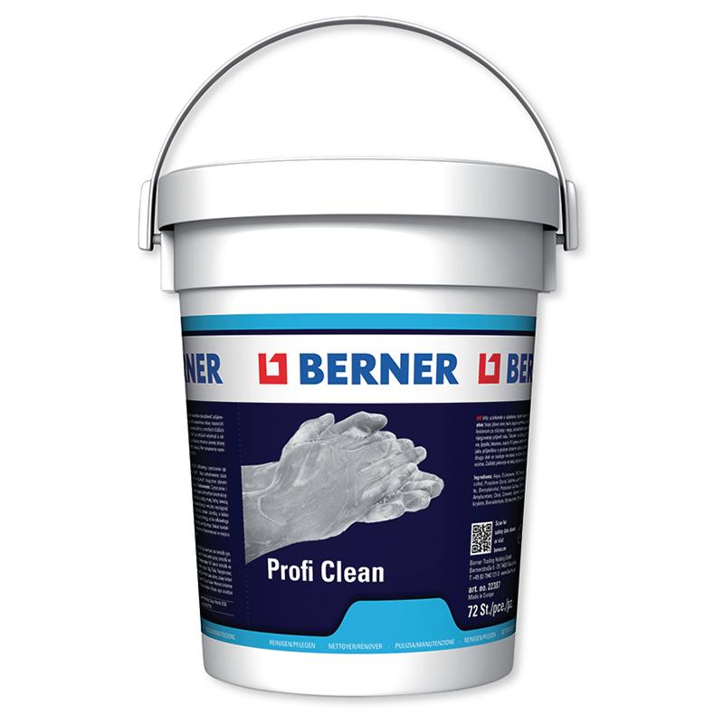 Очисні серветки Berner