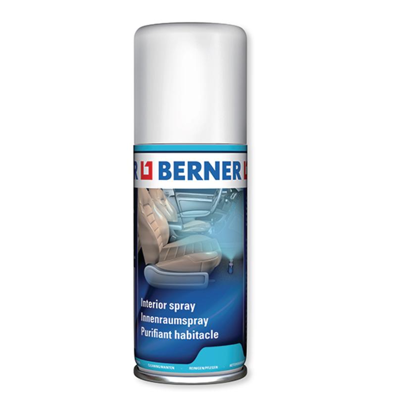 Бактеріальне очищення кондиціонеру та салону автомобіля Berner, 100 мл