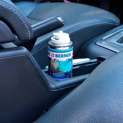 Очищувач-освіжувач кондиціонеру та салону автомобіля Berner, 100 мл