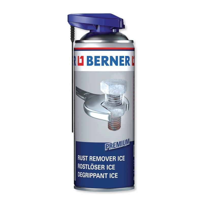 Розкислювач іржі з заморожуючим ефектом Berner Premium ICE, 400 мл
